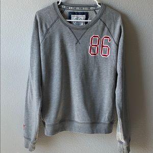 PINK Victoria's Secret Gray Sweatshirt Size L